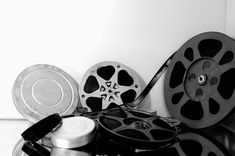 Vintage Film Rolls and canisters.
