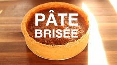 ChefSteps pate brisee pie crust great in sweet and savory pies, and is a classic quiche crust Wine Recipes, Dessert Recipes, Desserts, Pate Brisee Recipe, Pasta Brisa, Quiche Lorraine Recipe, Mousse, Pie Crust Recipes, Baking And Pastry