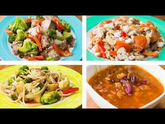 Diet Dinner Recipes 4 Healthy Dinner Recipes For Weight Loss, Easy Dinner Recipes Healthy Dinner Recipes For Weight Loss, Diet Dinner Recipes, Healthy Recipes, Easy Healthy Dinners, Healthy Snacks, Healthy Eating, Brunch Recipes, Spaghetti, Healthy Chicken