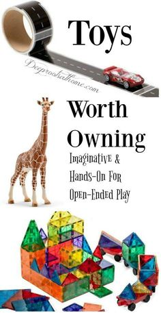 Toys Worth Owning: Curiosity-Sparking, Hands-On For Open-Ended Play