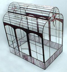 Image detail for -Victorian Stained Glass Terrariums by Ron Gladkowski