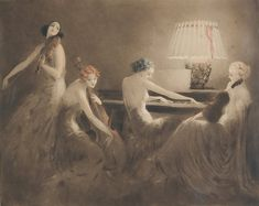 Melody Hour - Louis Icart