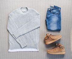 WEBSTA @ streetfitgrid - #Streetfitgrid by @nciktna ☑️-Margiela Sweater-CDG…