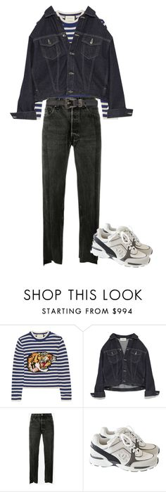 """""""Untitled #188"""" by frederikkematilder on Polyvore featuring Gucci, Vetements, Chanel and Yves Saint Laurent"""