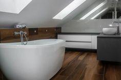 Łazienka ze skosem i domowe spa