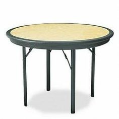 Iceberg 65149 29 by 42 by 42-Inch Indestruc-Tables Too Round Table, Light Oak by Iceberg. $359.88. Dent and scratch-resistant edges. Finish on legs provide protection against scratches. Woodgrain inlay provides smooth writing surface and is 1/8-Inch undersized to prevent buckling. Designed to hold 1,500-Pound evenly distributed. Integral base design for greater structural strength. Strong, sturdy, lightweight and portable Durable blow-molded, high-density polyeth...