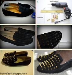 How to customize shoes...