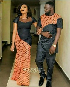 Latest Ankara Styles For Couples in 2018 - Wedding Digest Naija Couples African Outfits, African Clothing For Men, African Shirts, Latest African Fashion Dresses, African Dresses For Women, African Print Dresses, African Print Fashion, Africa Fashion, African Wear