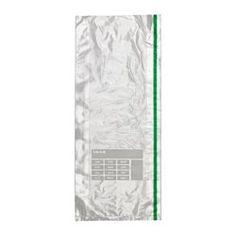 IKEA - FÖRNYBAR, Gefrierbeutel, Durch die beschreibbare Fläche lässt sich der Inhalt markieren und mit Datum versehen - für bessere Ordnung und leichte Übersicht.Geeignet für alle Lebensmittel, die eingefroren werden können, z. B. Gemüse, Brot und Essensreste.