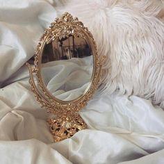Imagem de mirror, gold, and luxury