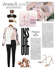 """Inside Out"" by julietnicolle ❤ liked on Polyvore featuring Anne Michelle, Chicnova Fashion, Yves Saint Laurent, Whiteley and Anja"