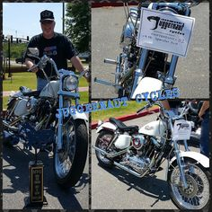 Super clean 1970 #sportster I chose as the Best in Show at my shops first ever bike show today! Proceeds and everything goes to our nation's #veterans and #operationatlas which trains service dogs for #vets with #ptsd. I gave away some awesome #daytonahelmets, gift certificates and more! #juggernautcycles #harleydavidson #vintageharley #vintagemotorcycles #oldchrome Reposted Via @juggernautcycles