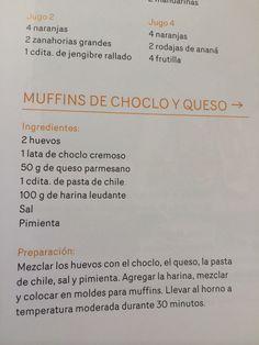 Muffins de choclo y queso