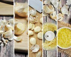Homemade Minced Garlic #mincedgarlic #garlic