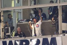 """Eddie Vedder will sing """"Take Me Out to the Ball Game"""" during the seventh-inning stretch at Sunday night's Game 5 at Wrigley Field, the Cubs announced."""