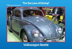 #SouthWestEngines Original Volkswagen Beetle Original Volkswagen Beetle, Ferdinand Porsche built this before founding Porsche.