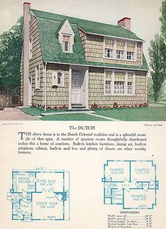 1928 Home Builders Catalog - The Dutch | by American Vintage Home