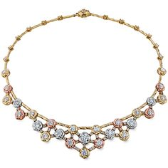 Atlantico Tri Color Necklace. I mean wow. Hearts On Fire