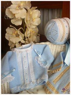 Sideways garter, Swiss entredeux ~~ CANASTILLA ARTESANAL