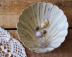 Seashell Jewlery Dish Beach Home Decor by SeaLoveAndSalt on Etsy, $18.00