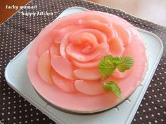 母の日に*お花の桃レアチーズケーキ*おつまみ系レシピ本の撮影秘話 | たっきーママ オフィシャルブログ「たっきーママ@Happy Kitchen」Powered by Ameba