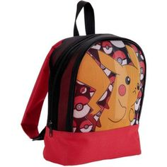 78e741941cd5 Pokemon - Pikachu Mesh Backpack - Walmart.com