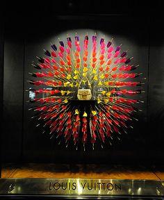 Louis Vuitton window displays, Budapest