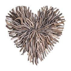 If your heart belongs to the sea, the Studios Driftwood Heart Shaped Wall Sculpture . Put this heart-shaped wall sculpture in a coastal or rustic. Driftwood Projects, Driftwood Art, Driftwood Ideas, Wood Wall, Wall Décor, Wall Mirrors, Heart Wall Decor, Kitchen Buffet, Kitchen Decor