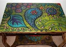 Funky Hand Painted Furniture - Bing Images