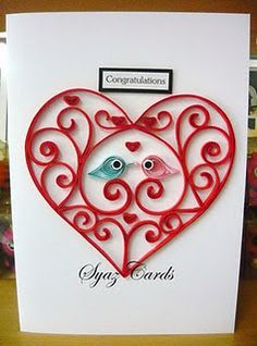Syaz Cards: Quilling