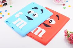 Protect your cell phone with this stylish silicone skin case -- Fashion M&M Lovely Pattern Soft Silicon Case Cover for iPad mini / iPad 2 3 Prevents scratches, chips and fingerprints from accumulating on your phone. Cute Ipad Cases, Mobile Accessories, Skin Case, Its A Wonderful Life, Ipad Air, Book 1, Cover, Phone Cases, Iphone 4