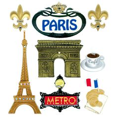 Jolee's Boutique® Paris Stickers