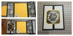 Gate fold 6x5 1/2 card (love)  Cardstock, Scrapbooking paper, cuttlebug, embellishments, scoreboard, paper trimmer, adhesive runner.