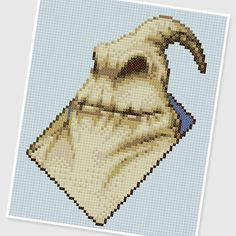 Nightmare Before Christmas Cross Stitch   The Nightmare Before Christmas Cross Stitch Oogie Boogie