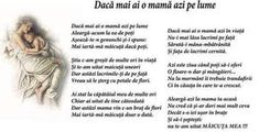 Daca Mai Ai O Mama Azi Pe Lume - daca mai ai o mama azi pe lume 2015 Good Life Quotes, Best Quotes, Life Is Good, Love Quotes, Inspirational Quotes, Enemies Quotes, Friendship Quotes, Memories, Moldova