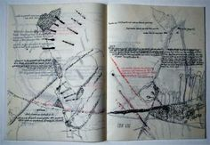 Barbara Farhner, artist book After: scan drawings, degrade add to publisher doc