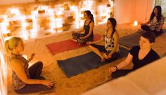 The Breathe Easy Spa in New York City has created a salt room—yes, a room made of salt—to help you inhale and exhale through your downward dog.