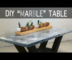 I entered this in the Furniture Contest - if you like this Instructable, I would greatly appreciate your vote! I made a coffee table top from concrete, that looks...