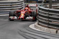 Kimi Raikkonen at 2014 Monaco GP