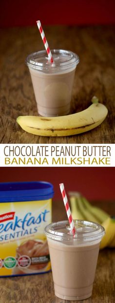 Chocolate Peanut Butter Banana Shake recipe is easy to follow and delicious.