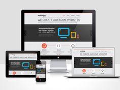 Mobilising Website by Sai Nihas, via Behance