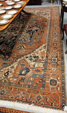 "Serapi Oriental carpet (one patch near end), 10'2"" x 12'5"". - Realized Price: $5,175.00"