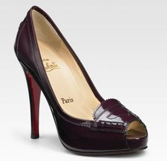 Christian Louboutin high heel Loafers