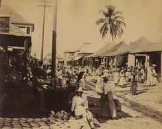 Valentine and Sons - Street View, Kingston, 1891 | by The Caribbean Photo Archive