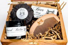 Deluxe Beard Kit  Beard Care Kit  Beard Soap  by MaisonLambert