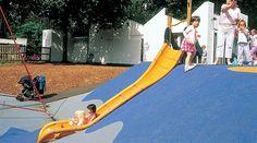 Embankment Slide - TR0004 - Slides - Playground equipment - KOMPAN