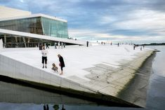 Oslo Opera by Snohetta