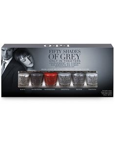 OPI Fifty Shades of Grey Mini Pack #macys #southbaygalleria