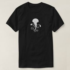 Shop Kwubos Shirt evil jellyfish spirit created by Cockblock. Personalize it with photos & text or purchase as is! Spirit Shirts, Cute Characters, White Shop, Jellyfish, Tshirt Colors, Shop Now, Fitness Models, Casual, Mens Tops