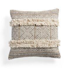 Amara Fringe Square Pillow